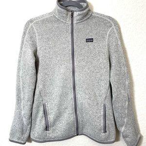 Patagonia Gray Better Sweater Full Zip Up Fleece
